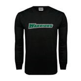 Black Long Sleeve TShirt-Warriors