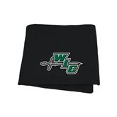 Black Sweatshirt Blanket-WLC Diagonal w/ Sword
