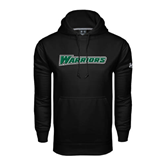 Under Armour Black Performance Sweats Team Hoodie-Warriors