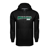 Under Armour Black Performance Sweats Team Hoodie-Dad - Wisconsin Lutheran College Warriors