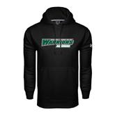 Under Armour Black Performance Sweats Team Hoodie-Alumni - Wisconsin Lutheran College Warriors