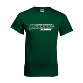 Dark Green T Shirt-Alumni - Wisconsin Lutheran College Warriors