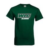 Dark Green T Shirt-Alumni - WLC