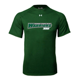 Under Armour Dark Green Tech Tee-Dad - Wisconsin Lutheran College Warriors