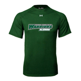 Under Armour Dark Green Tech Tee-Alumni - Wisconsin Lutheran College Warriors