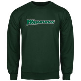 Dark Green Fleece Crew-Warriors