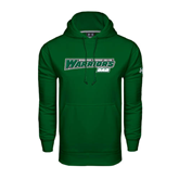 Under Armour Dark Green Performance Sweats Team Hoodie-Dad - Wisconsin Lutheran College Warriors