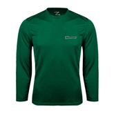 Syntrel Performance Dark Green Longsleeve Shirt-Warriors
