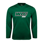 Syntrel Performance Dark Green Longsleeve Shirt-Dad - WLC