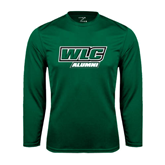 Syntrel Performance Dark Green Longsleeve Shirt-Alumni - WLC
