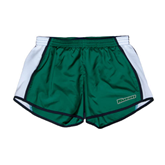Ladies Dark Green/White Team Short-Warriors