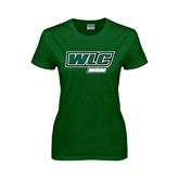 Ladies Dark Green T Shirt-Mom - WLC