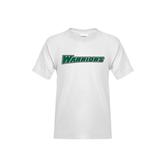 Youth White T Shirt-Warriors
