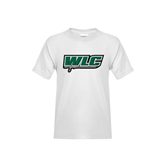 Youth White T Shirt-WLC w/ Sword