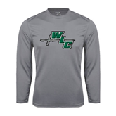 Syntrel Performance Steel Longsleeve Shirt-WLC Diagonal w/ Sword