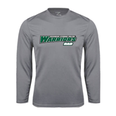 Syntrel Performance Steel Longsleeve Shirt-Dad - Wisconsin Lutheran College Warriors