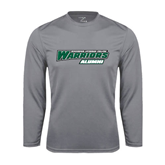 Syntrel Performance Steel Longsleeve Shirt-Alumni - Wisconsin Lutheran College Warriors