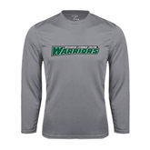 Syntrel Performance Steel Longsleeve Shirt-Wisconsin Lutheran College Warriors