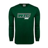 Dark Green Long Sleeve T Shirt-Dad - WLC