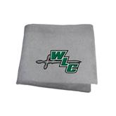 Grey Sweatshirt Blanket-WLC Diagonal w/ Sword