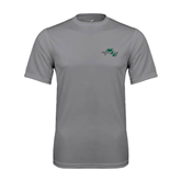 Performance Grey Concrete Tee-WLC Diagonal w/ Sword