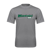 Performance Grey Concrete Tee-Dad - Wisconsin Lutheran College Warriors