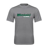 Performance Grey Concrete Tee-Alumni - Wisconsin Lutheran College Warriors