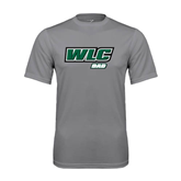 Performance Grey Concrete Tee-Dad - WLC