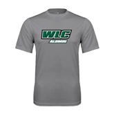 Performance Grey Concrete Tee-Alumni - WLC