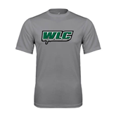 Performance Grey Concrete Tee-WLC w/ Sword