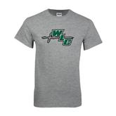 Grey T Shirt-WLC Diagonal w/ Sword
