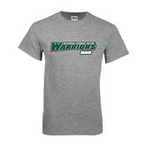 Grey T Shirt-Dad - Wisconsin Lutheran College Warriors