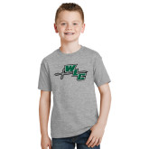 Youth Grey T-Shirt-WLC Diagonal w/ Sword