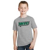 Youth Grey T-Shirt-WLC w/ Sword