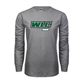 Grey Long Sleeve T Shirt-Dad - WLC