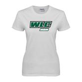 Ladies White T Shirt-Mom - WLC