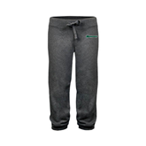 ENZA Ladies Dark Heather Banded Fleece Capri-Warriors