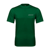Performance Dark Green Tee-Warriors