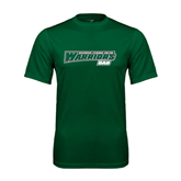 Performance Dark Green Tee-Dad - Wisconsin Lutheran College Warriors