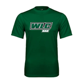 Performance Dark Green Tee-Dad - WLC