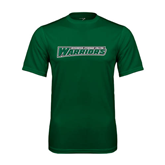 Performance Dark Green Tee-Wisconsin Lutheran College Warriors