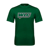 Performance Dark Green Tee-WLC w/ Sword