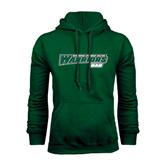 Dark Green Fleece Hood-Dad - Wisconsin Lutheran College Warriors