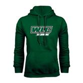 Dark Green Fleece Hood-Alumni - WLC