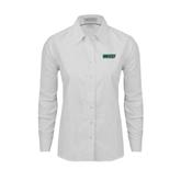 Ladies White Oxford Shirt-WLC
