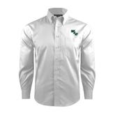 Red House White Dobby Long Sleeve Shirt-WLC Diagonal