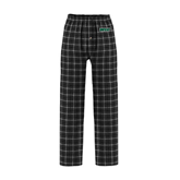 Black/Grey Flannel Pajama Pant-WLC
