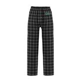 Black/Grey Flannel Pajama Pant-WLC