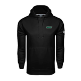 Under Armour Black Performance Sweats Team Hoodie-WLC