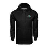 Under Armour Black Performance Sweats Team Hoodie-WLC Diagonal w/ Sword